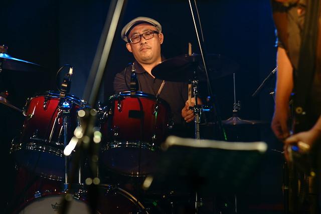 CABU live at 獅子王, Tokyo, 27 Jul 2014. 068