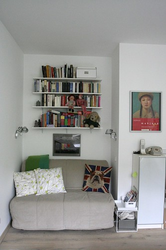 Guestbed / Library corner