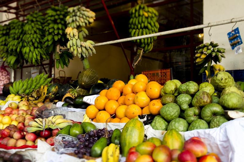 Stall with fruis - Mercado dos Lavradores #7 - Funchal, Madeira