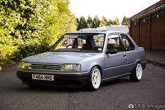 automobile, peugeot, vehicle, subcompact car, peugeot 309, compact car, sedan, land vehicle,