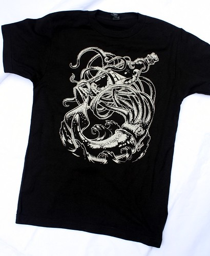 Giant Squid & Bottle Shirt