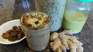 Apricot Hemp Chia Pudding