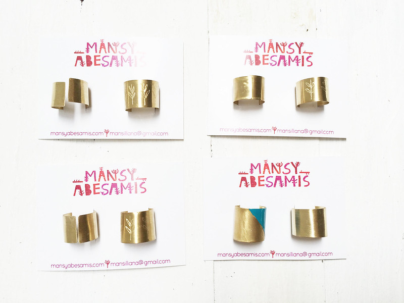 Brass Jewelry by Mansy Abesamis