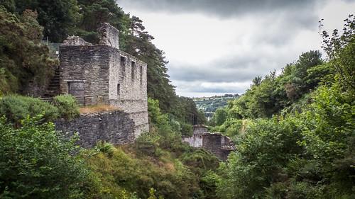 hillside derelict isleofman laxey blindphotographers laxeymine