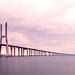 Lissabon - Ponte Vasco da Gama Panorama by 030mm-photography