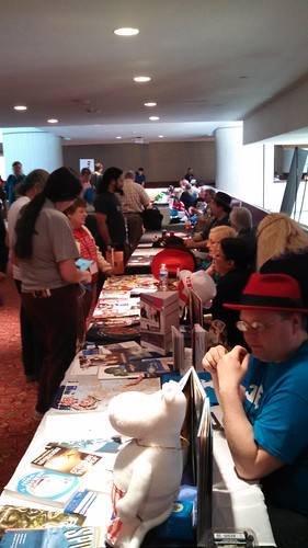 Fan Tables at Detcon 1