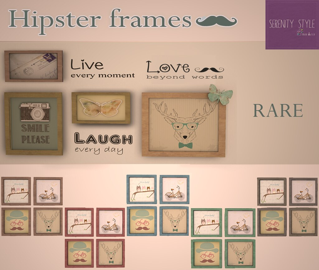 Hipsters frames