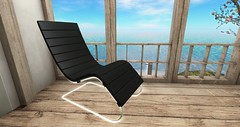 [satus Inc] Leather Lounge Chair (Adult & PG)