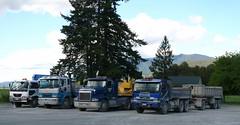 Trucks in Murchison