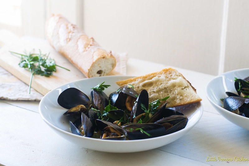 Julia Child's classic recipe for mussels mariniere couldn't be any easier. Steamed in minutes with shallots, garlic, white wine and fresh herbs.