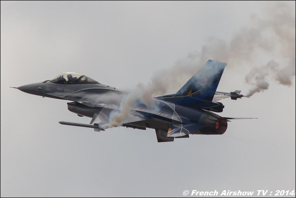 Belgian F16 Solo Display Team 2014 , MNA 133 Nancy 2014
