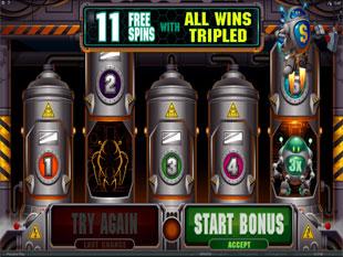 RoboJack Free Spins Bonus