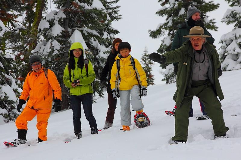 IMG_8426 Ranger-Led Snowshoe Walk