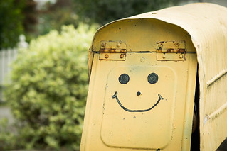 Mail box or smile generator?