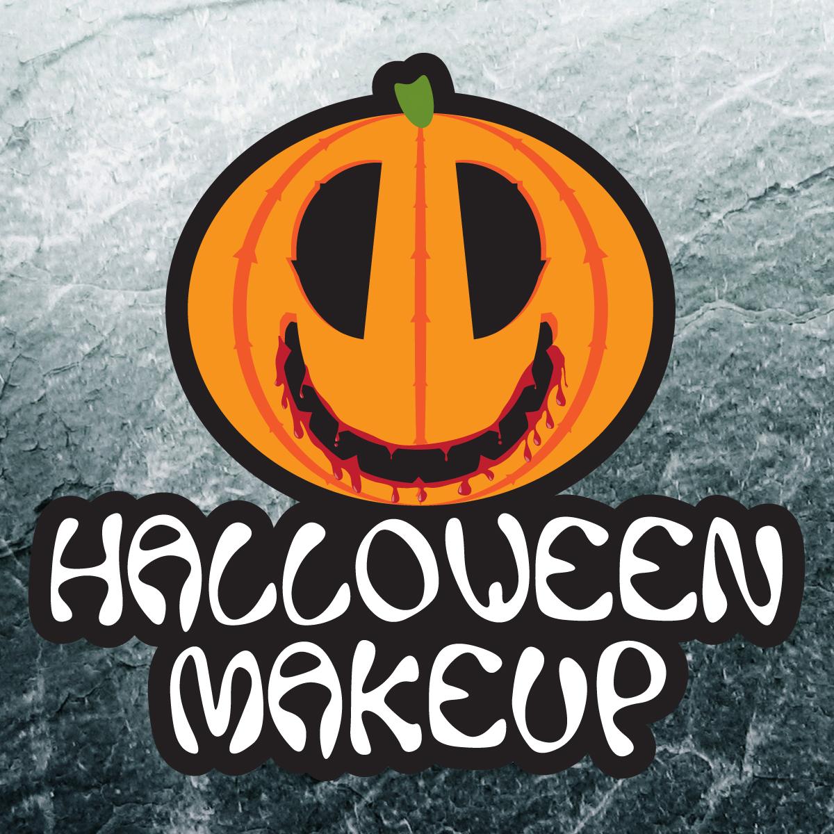 HALLOWEEN Makeup logóterv
