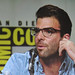 Small photo of Agent 47 panel - actor Zachary Quinto