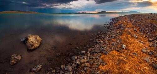 sunset landscape mongolia tamir nuur bulgan aimag монгол нуур шаргын баярсайхан bayarsaikhan булган tamirglz shargiin тамир тусгал баянагт