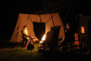 Lagerfeuer am Cave 2014