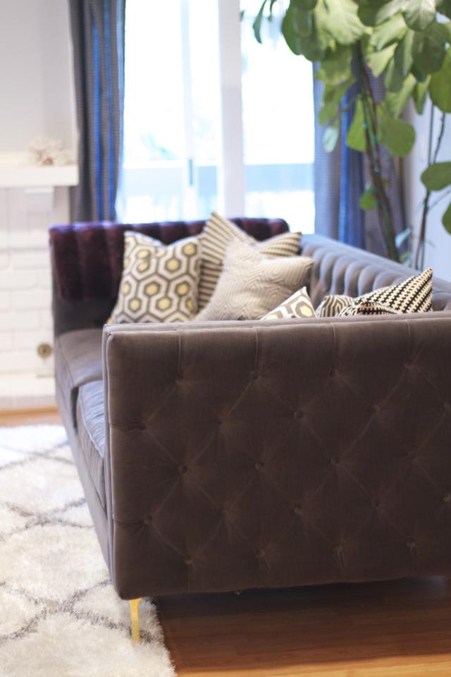modshop tufted sofa