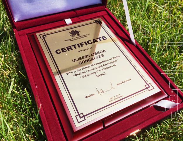 Premiação na ADA University