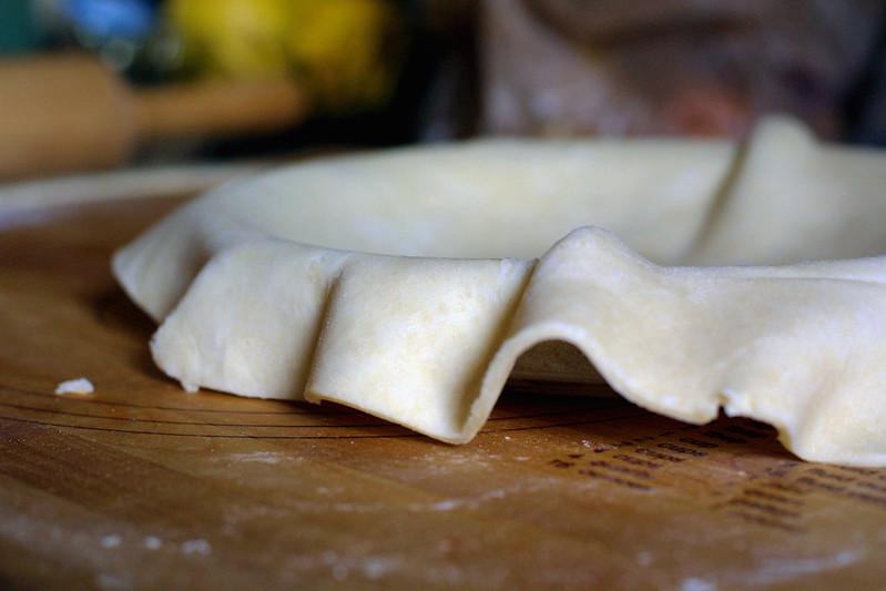 Rumpled crust