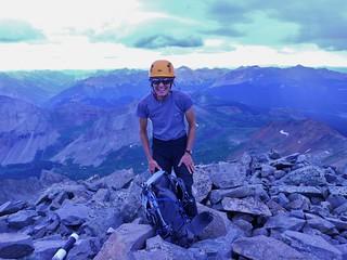 Helen Conquers Gladstone Peak
