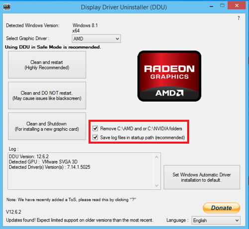 How to completely remove and reinstall graphics drivers (AMD, NVIDIA
