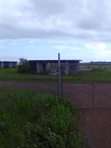 Confederation Bridge assembly yard at Amherst Point, Borden-Carleton (1)