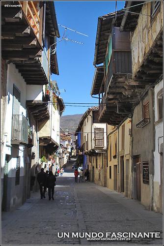 Calles de Garganta la Olla, Extremadura.