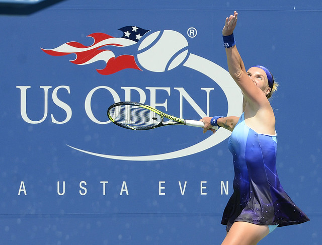 2014 US Open (Tennis) - Tournament - Svetlana Kuznetsova