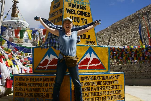 Chang-La pass, 5360 meter altitude. Ladakh, 09 Aug 2014. 408