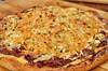 Mmm... reuben pizza