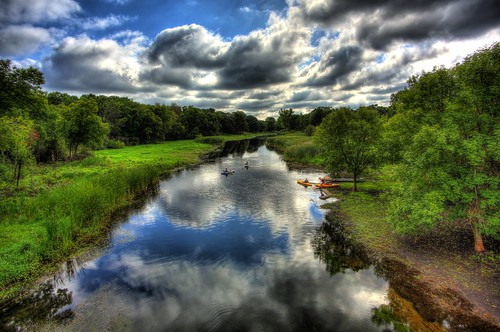 summer 3 nature water minnesota clouds creek canon landscape eos kayak mark iii canoe 5d mn hdr minnetonka minnehaha photomatix 5dmarkiii