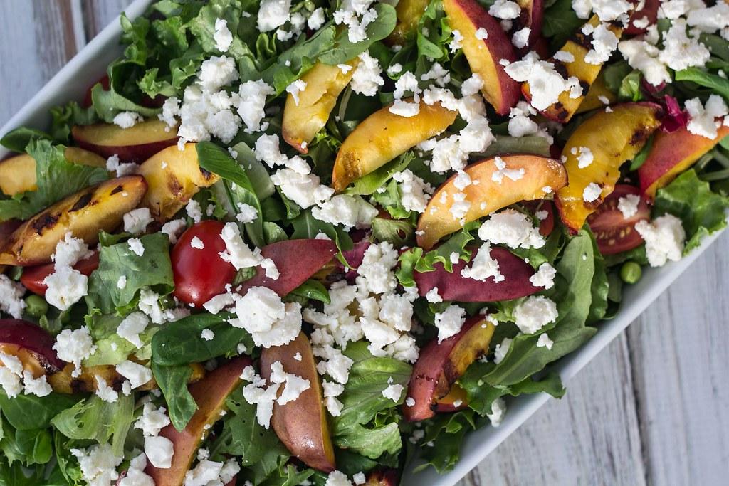 Salat med grillede nektariner (4)
