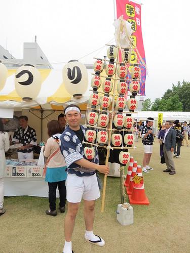 Akita Kantou at Tohoku Rokkonsai (東北六魂祭)