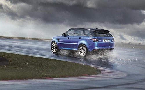 Land Rover unveils the new Range Rover Sport SVR