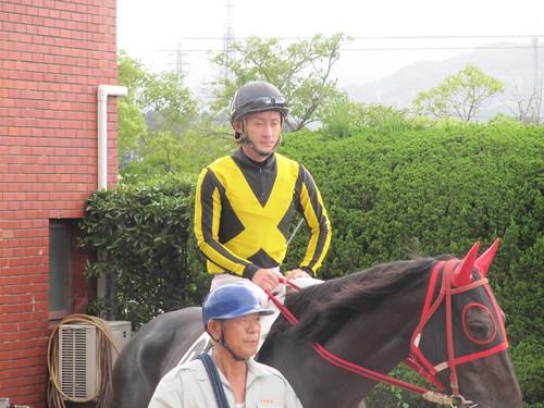 佐賀競馬場の石川慎将騎手