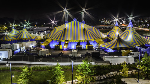Cirque (@cirque)  du Soleil Tents by Geoff Livingston