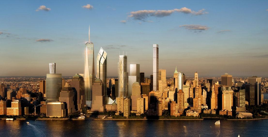 New York 125 Greenwich Street 912 Ft 70 Floors