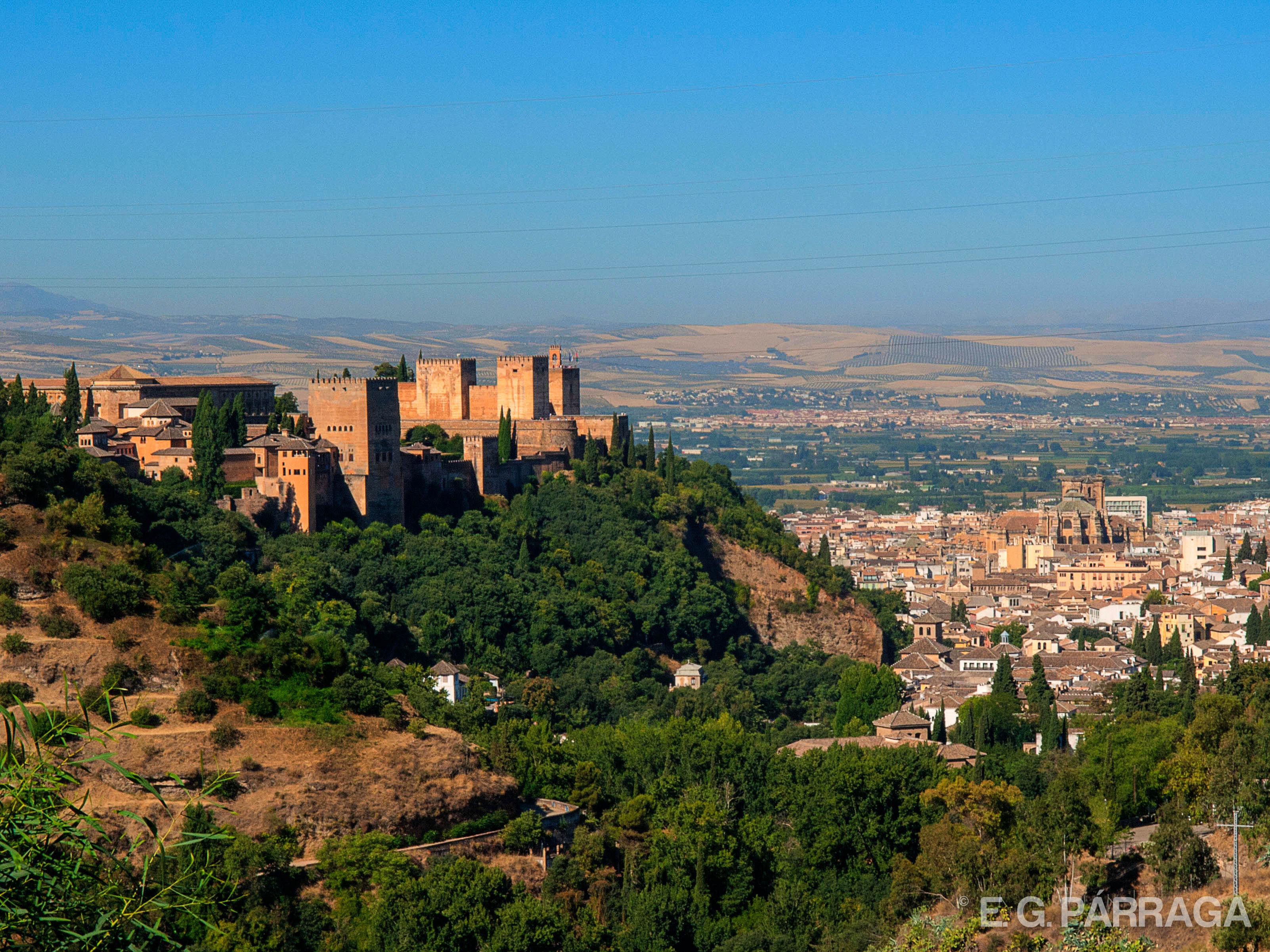 Alhambra desde el Sacromonte
