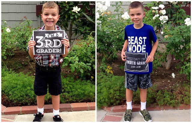 First Day of School 3rd Grade/4th Grade