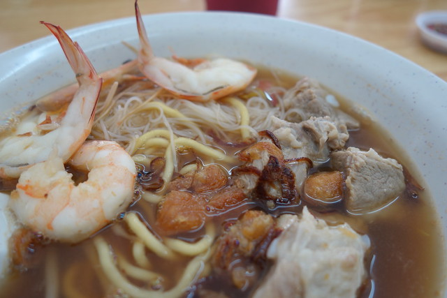 Prawn Noodles with Pork Ribs - Datouxia