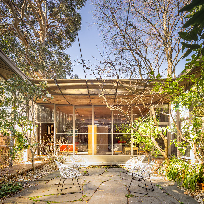 Contemporary Australian Home Architecture On Yarra River: Modernist Architecture: Robin Boyd Residence II