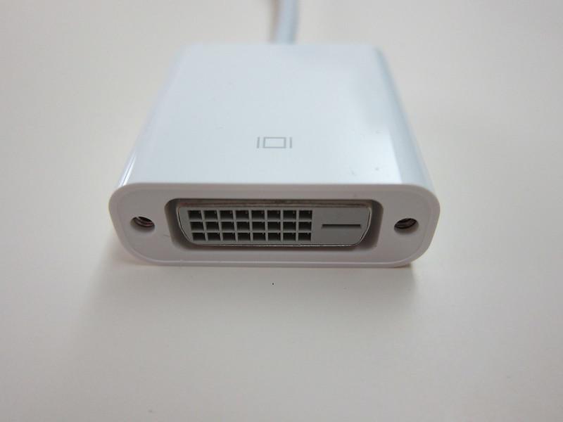 Apple Mini DisplayPort to DVI Adapter - DVI End