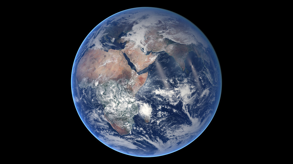 Blue Marble, Eastern Hemisphere March 2014