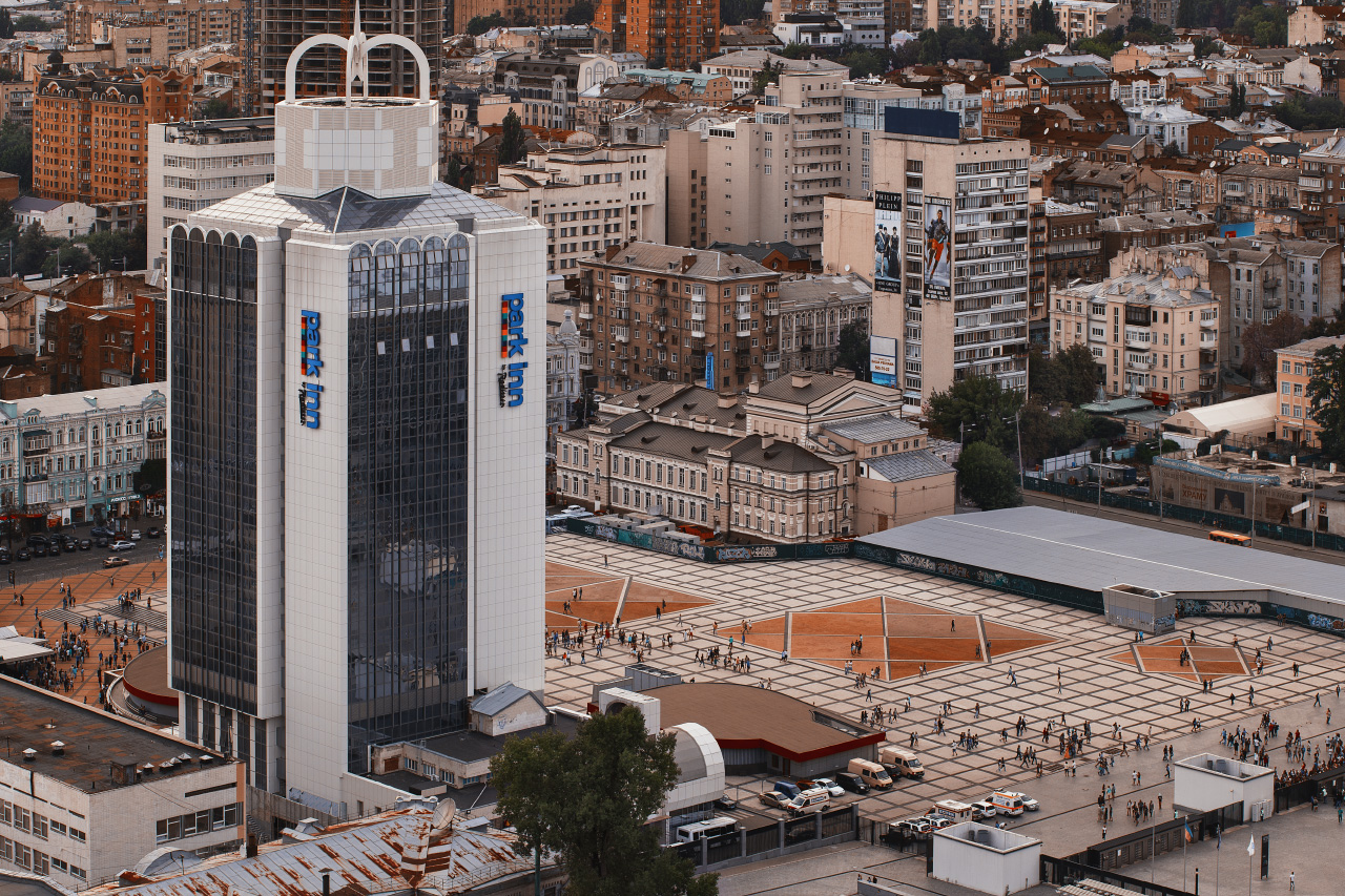 Kiev - Olympic square