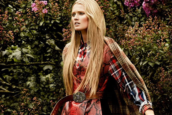 Toni Garrn By James Macari For Vogue Mexico September 2014