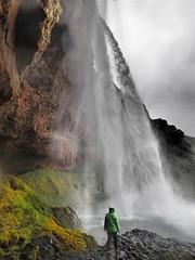 Seljalandsfoss waterfall, South Iceland