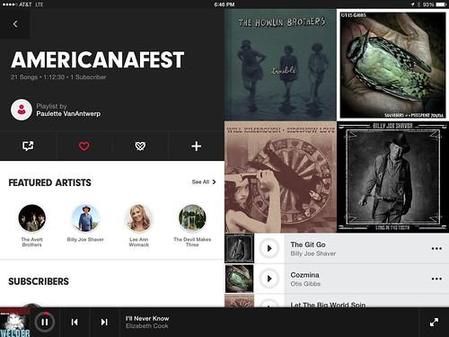 Americana Music Festival 2014 on Beats Music