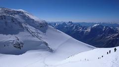 Przełęcz Sedlovina (4400m). Widok na południe.